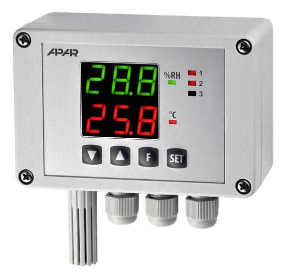 کنترلر دما و رطوبت مدل AR247